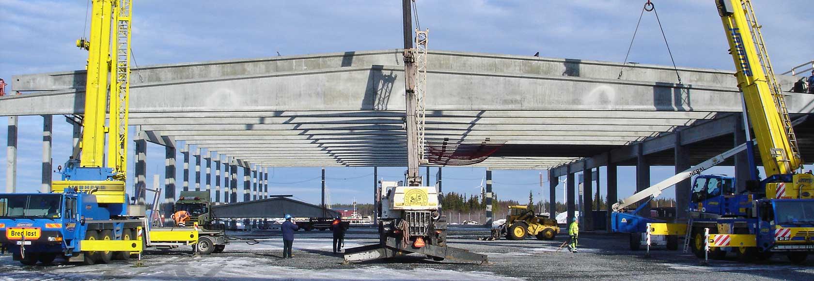 Hellströms bygger magasin 8 på Haraholmen