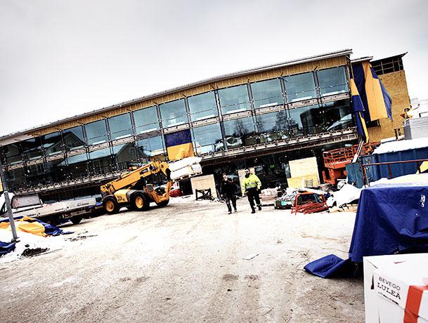 Hellströms byggentreprenad Allhuset i Piteå
