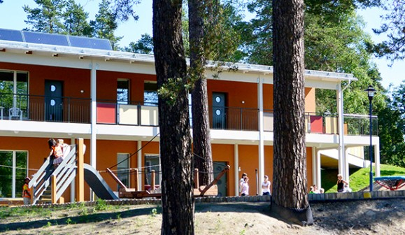 Hellströms bygger förskola hamnen åt Skellefteå kommun i Skelleftehamn